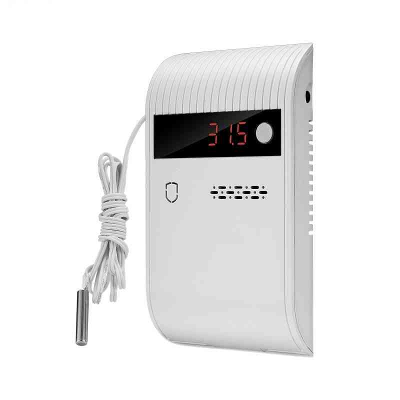 433mhz Temperature Detector With Led Display  And Alarm System