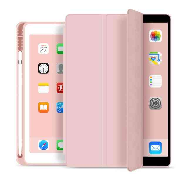 Air 3 Smart Cover With Pencil Holder - Ipad 5th 6th Generation