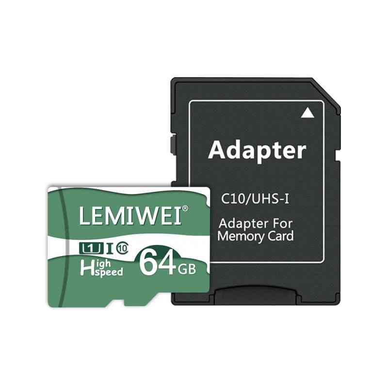 High Speed Memory Tf Flash Card And Adapter