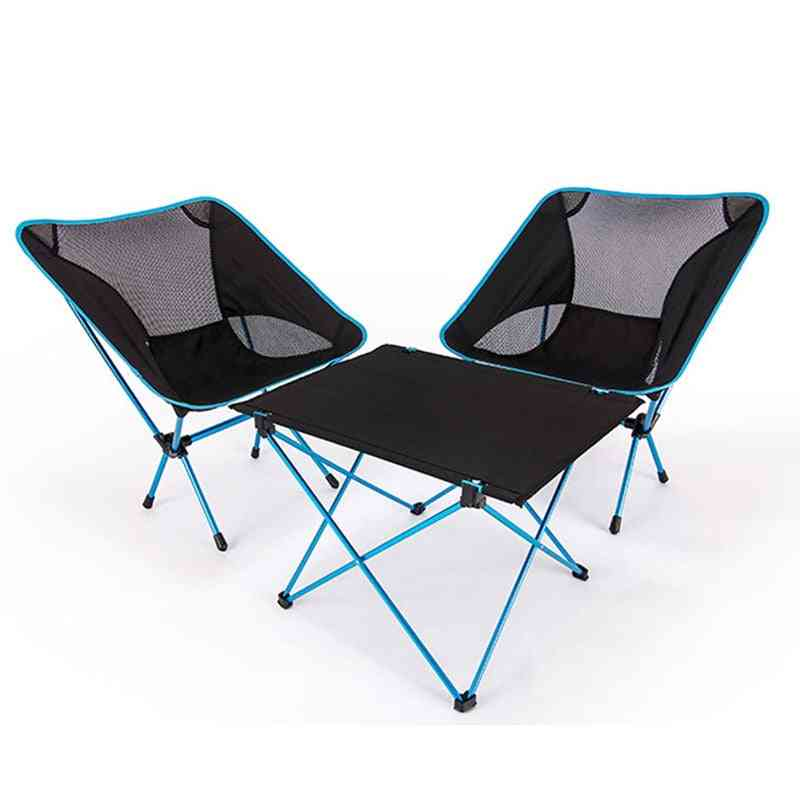 Portable Chair, Foldable Diy Camping Chair Desk