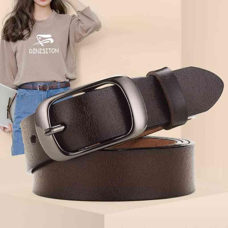 New Genuine Leather Adjustable High-quality Belts Belt