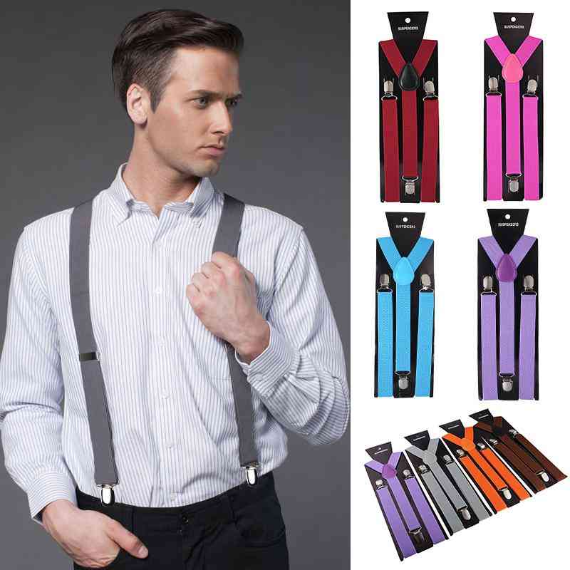Taylor Unisex Women Men Elastic Adjustable Suspender