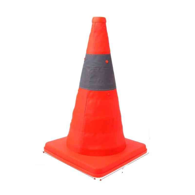 Folding Road Safety, Warning Sign, Traffic Cone, Reflective Tape