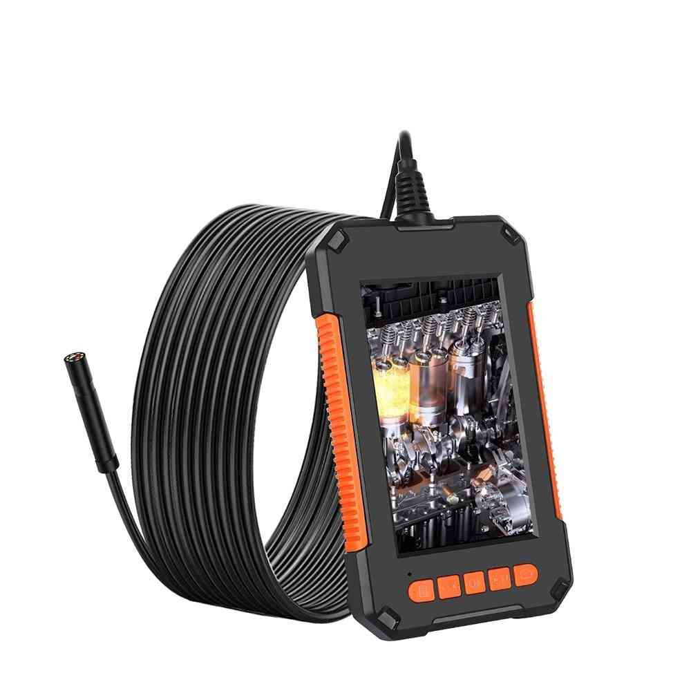 Lcd Borescope For Industrial Pipe Inspection Real-time Watch Video Camera