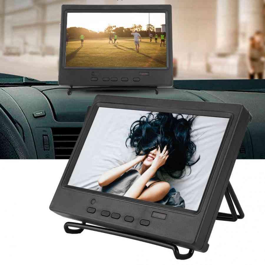 Portable Monitor, Multi-function Display Support Hdmi/vga/av Input Lcd Monitor Controller