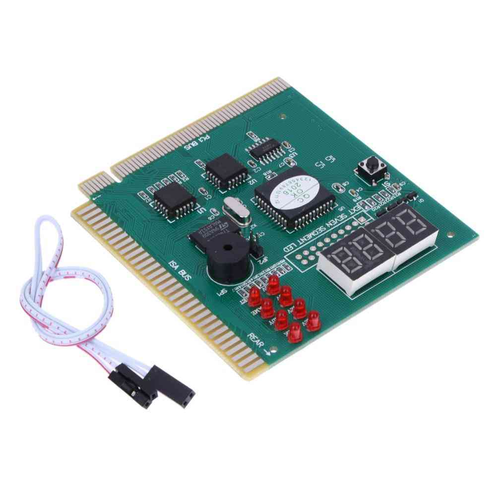 4-digit Pc Analyzer Diagnostic Post Card Motherboard Post Tester Indicator/ Led Lcd Display