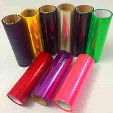 Gloss Light Wrap Headlights Film Sheet, Car Headlight Taillight Fog Vinyl Sticker