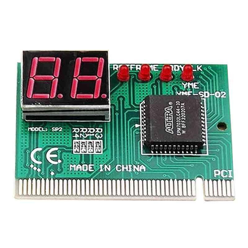 2-digit Computer Mother Board Debug Analyzer-pci Diagnostics Card