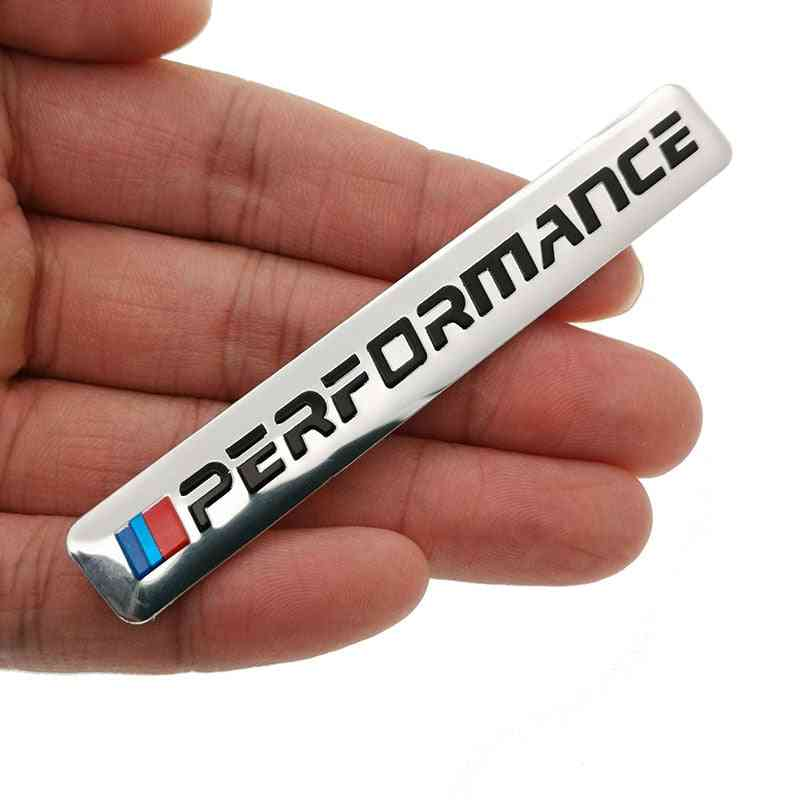 Refined Design Power Performance Decal Logo Badge For Cars