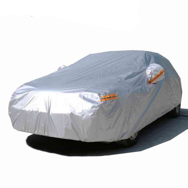 Outdoor Sun Uv Protection Full Car Covers, Dust Rain Snow Protective Cover
