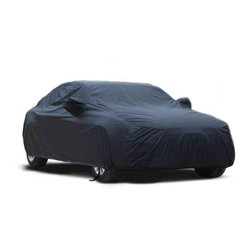 Universal Black Breathable And Waterproof Car Cover