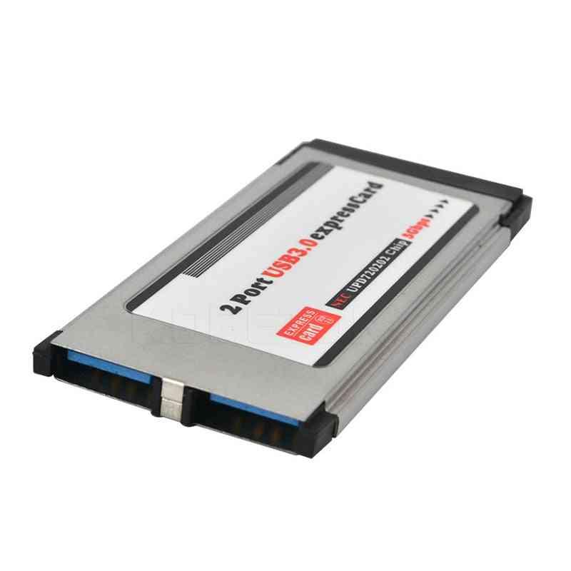 Pci Express To Usb 3.0 Dual 2 Ports Pci-e Card Adapter