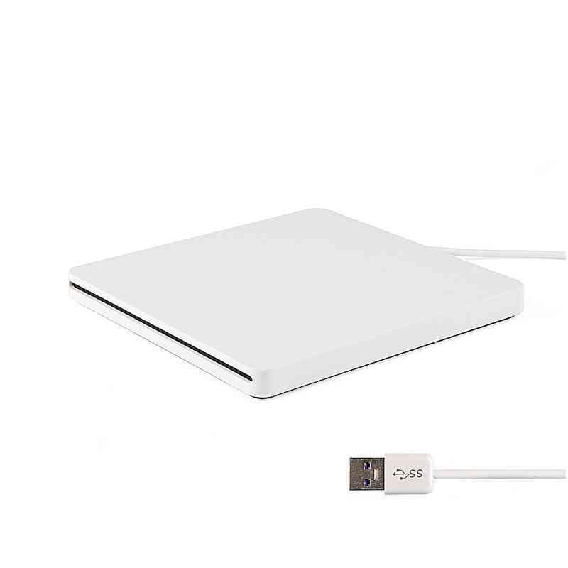 Super Slim External Slot In Dvd Rw Enclosure Usb 3.0 Case