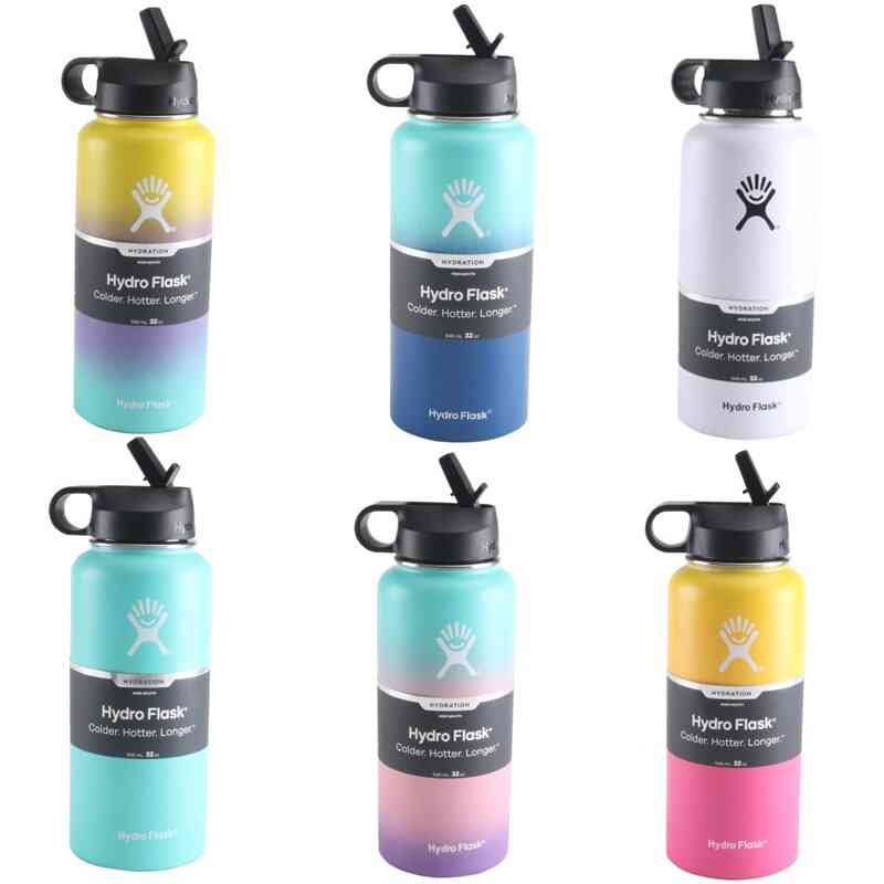 Flask Straw Lid Vsco/ Insulated Water Bottle