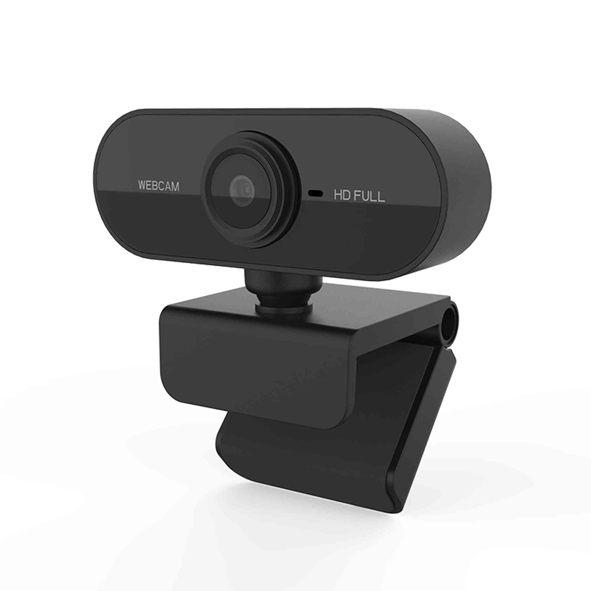 Full Hd 1080p Web Cam Auto Focus Mini Web Camera With Microphone