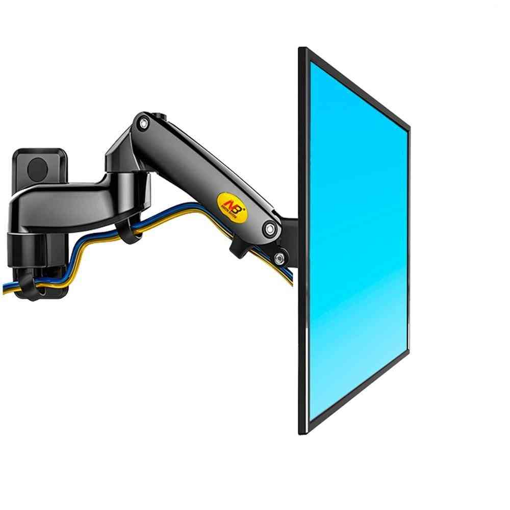 Aluminum Alloy 360 Degree Monitor Holder Gas Spring Arm