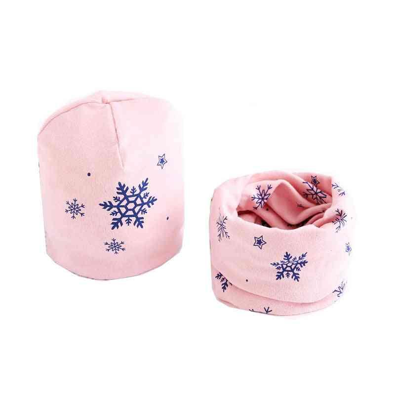 Girls Hat Scarf Set