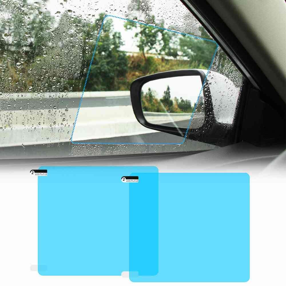 Car Rearview Mirror Protective Rain Proof Anti Fog Waterproof Film Membrane