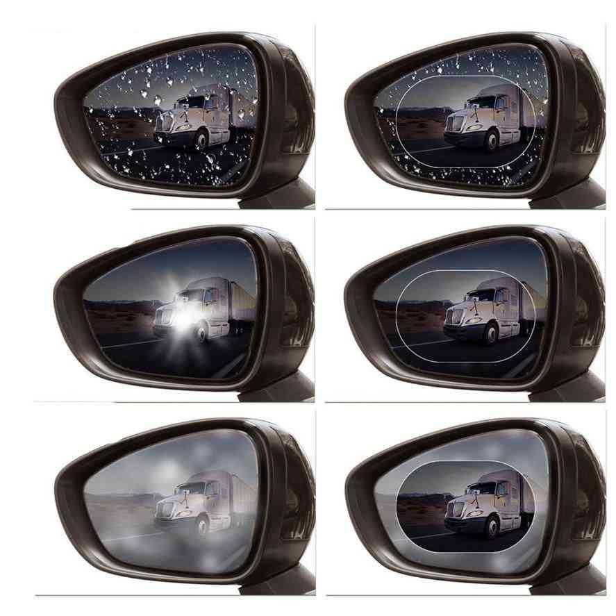 Mirror Film Anti-fog Sticker Windscreen Side Window Protective Film Car Rearview