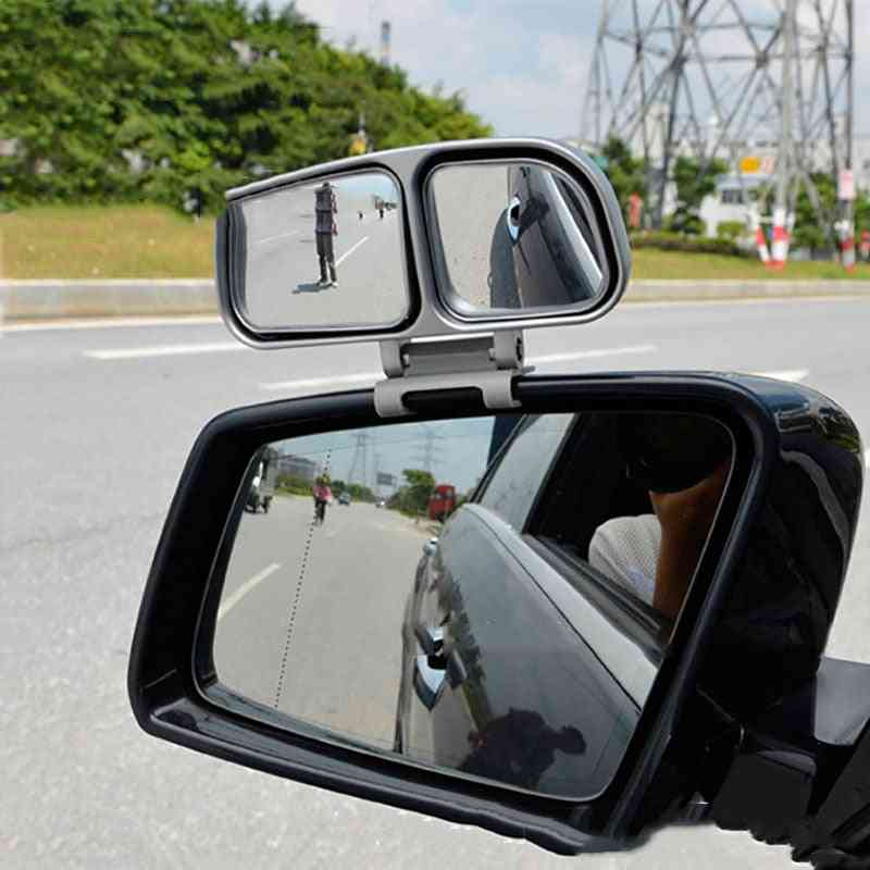 Car Blind Spot Rearview With 360-degree Adjustable Reversing Mirror