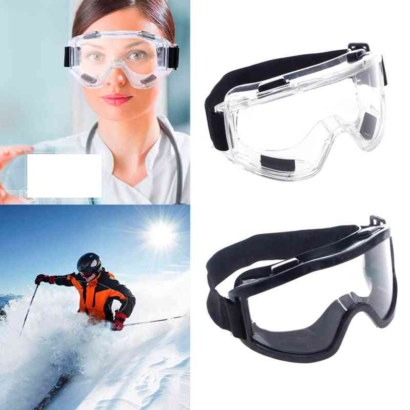 Safety Goggles For Ski Snowboard, Motorcycle Eyewear Glasses, Eye Protection & Work Lab
