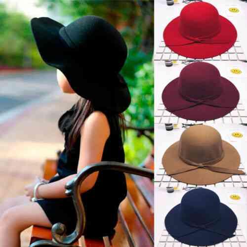 Sweet Kids Bowknot Hat, Bowler Sun Caps