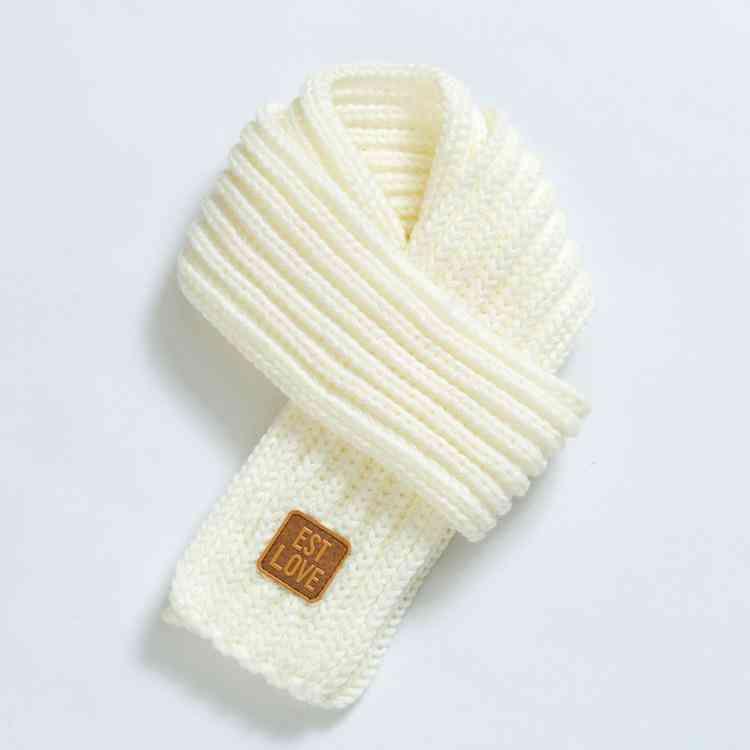 Winter Warm Knit Shawl Scarf, Neck Collar Accessories