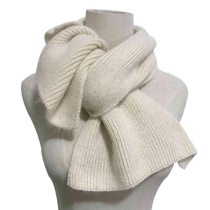 New Luxury Soft 70%, Real Angora Rabbit Fur Scarf