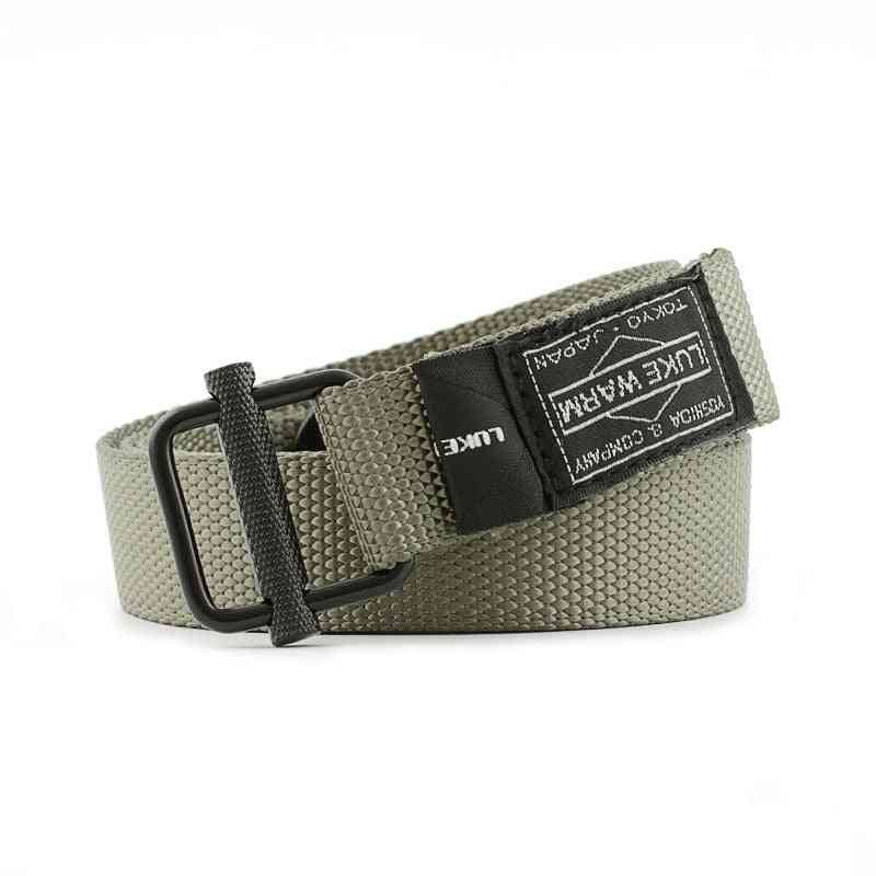 Army Combat Waist Belt For Jeans, Lukewarm Nylon Tactical Metal Buckle