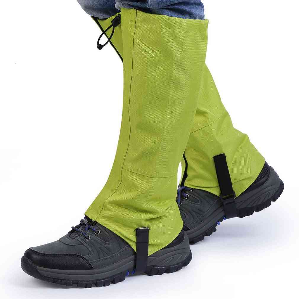 Snow Legging Gaiters, Winter Leg Protect Equipment For Outdoor Hiking/ Walking/ Climbing