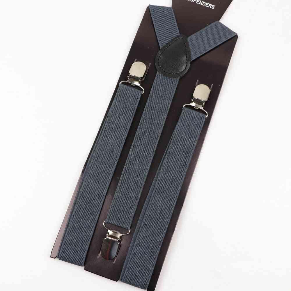 Suspender Polyester Y-back Adjustable Elastic Belt