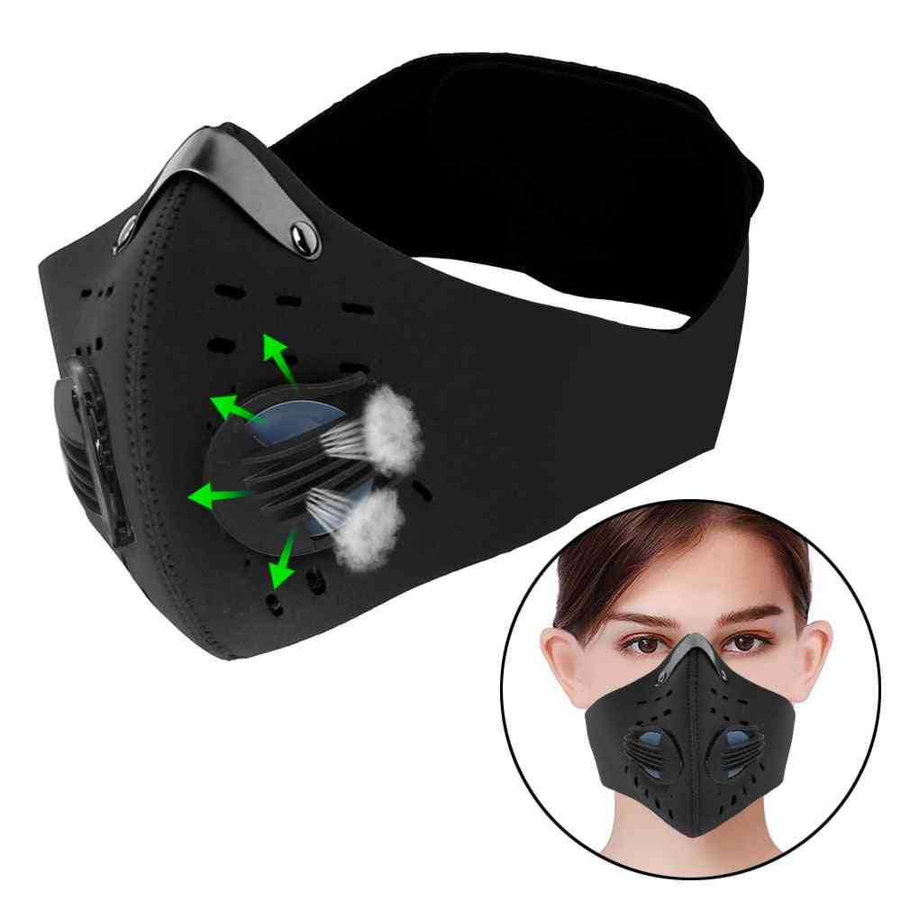 Breathing Valve, Protective Mask - Anti-pollution, Cycling Mask With Filter