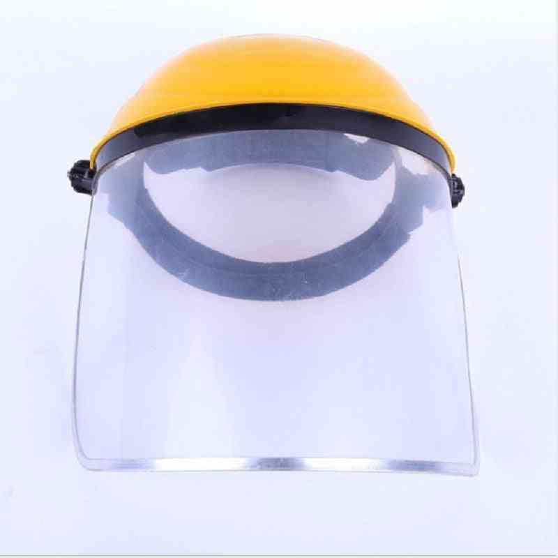 Dustproof Mask Transparent, Pvc Safety Faces Shields, Screen Spare, Visors Head Helmet