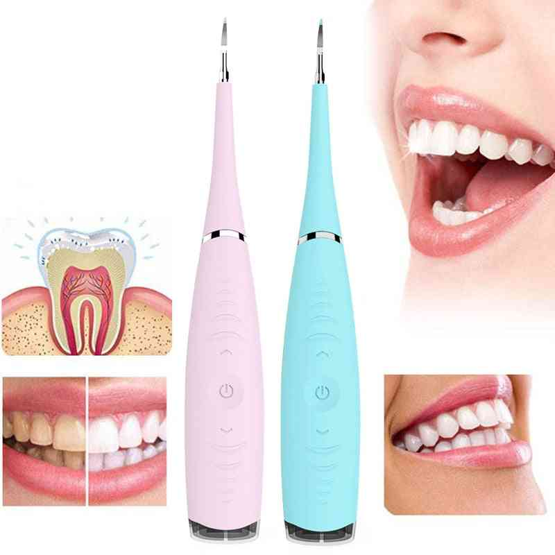 Usb Rechargeable, Dental Scaler, Calculus Remover-whiten Teeth