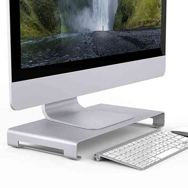 Aluminum Monitor /metal Computer Universal Desktop Stand