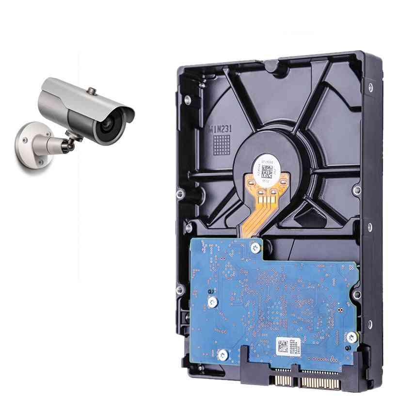 500gb Video Surveillance Hard Drive Disk Dvr Nvr Cctv Monitor Hdd Hd Internal Sata Iii 6gb/s 5700rpm 32mb 3.5