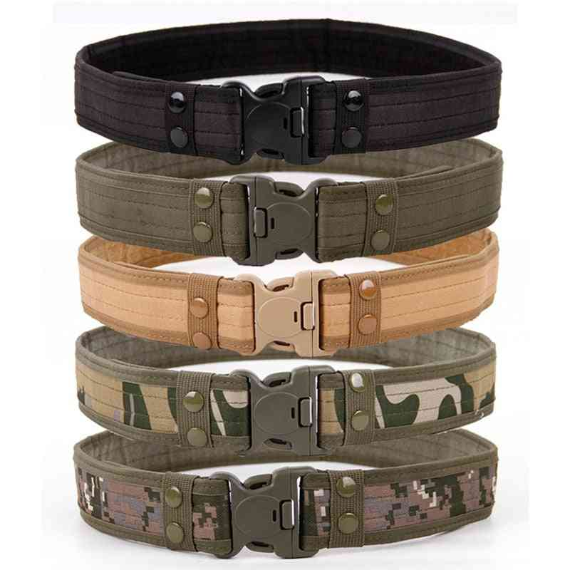 Army Style Combat Quick Release Tactical Belt
