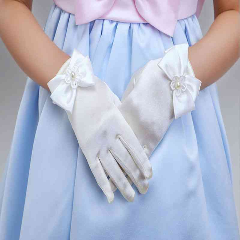 Bowknot Opera Evening Party Dress - Charming Gloves For