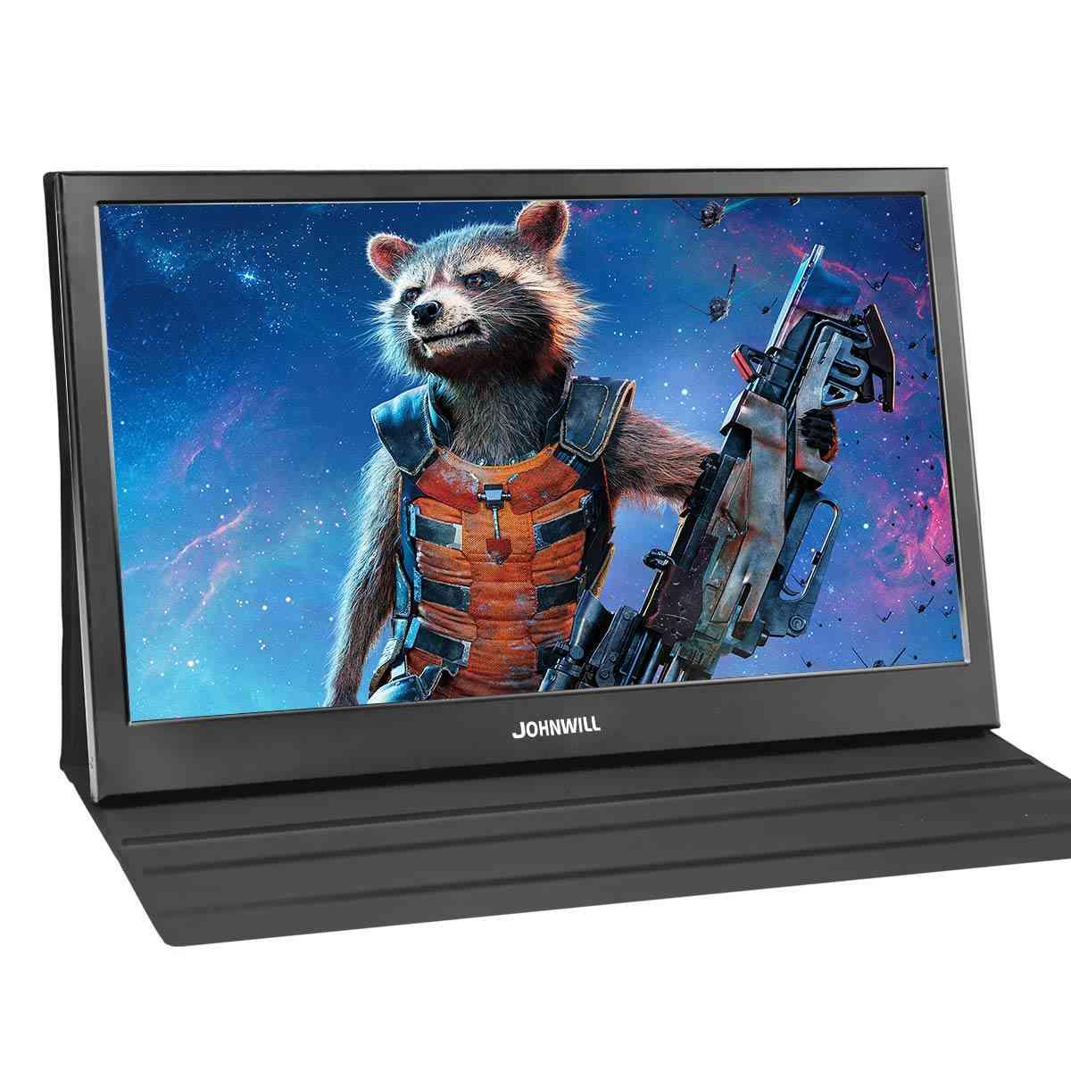 Portable Gaming Monitor, 2k Resolution Ips Qhd Lcd Display