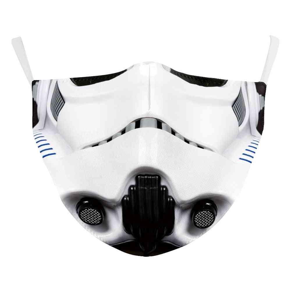 Darth Vader Boba, Cosplay Face Mask - Dustproof Adult, Kids