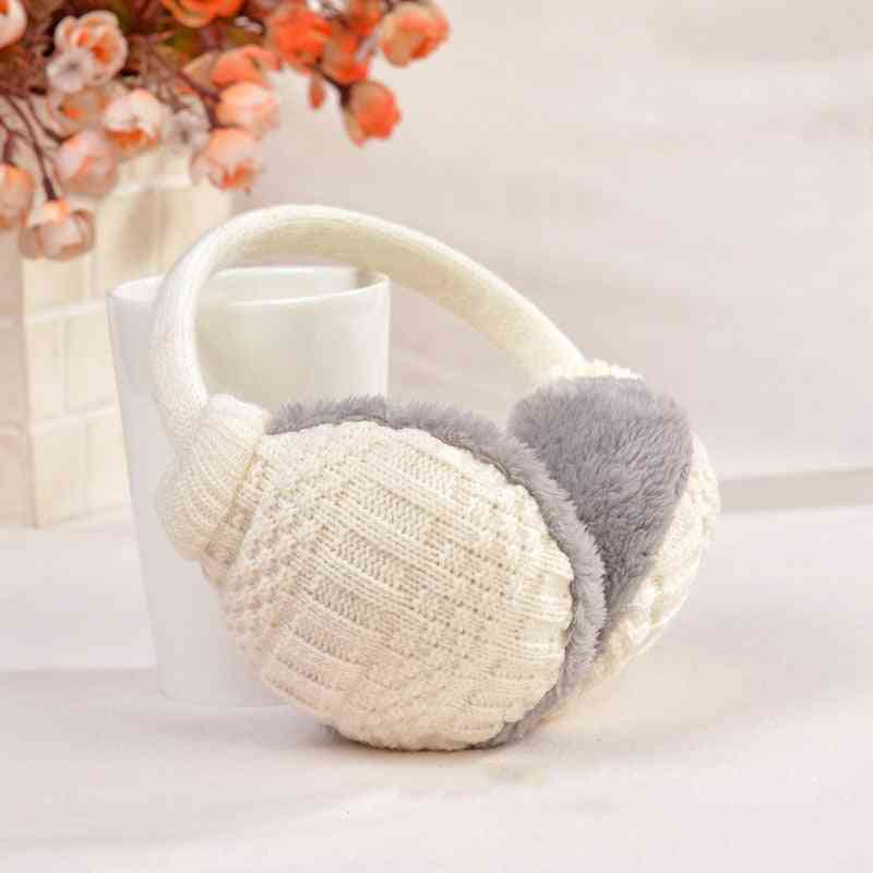 Winter Warm Cotton - Knitted Earmuffs