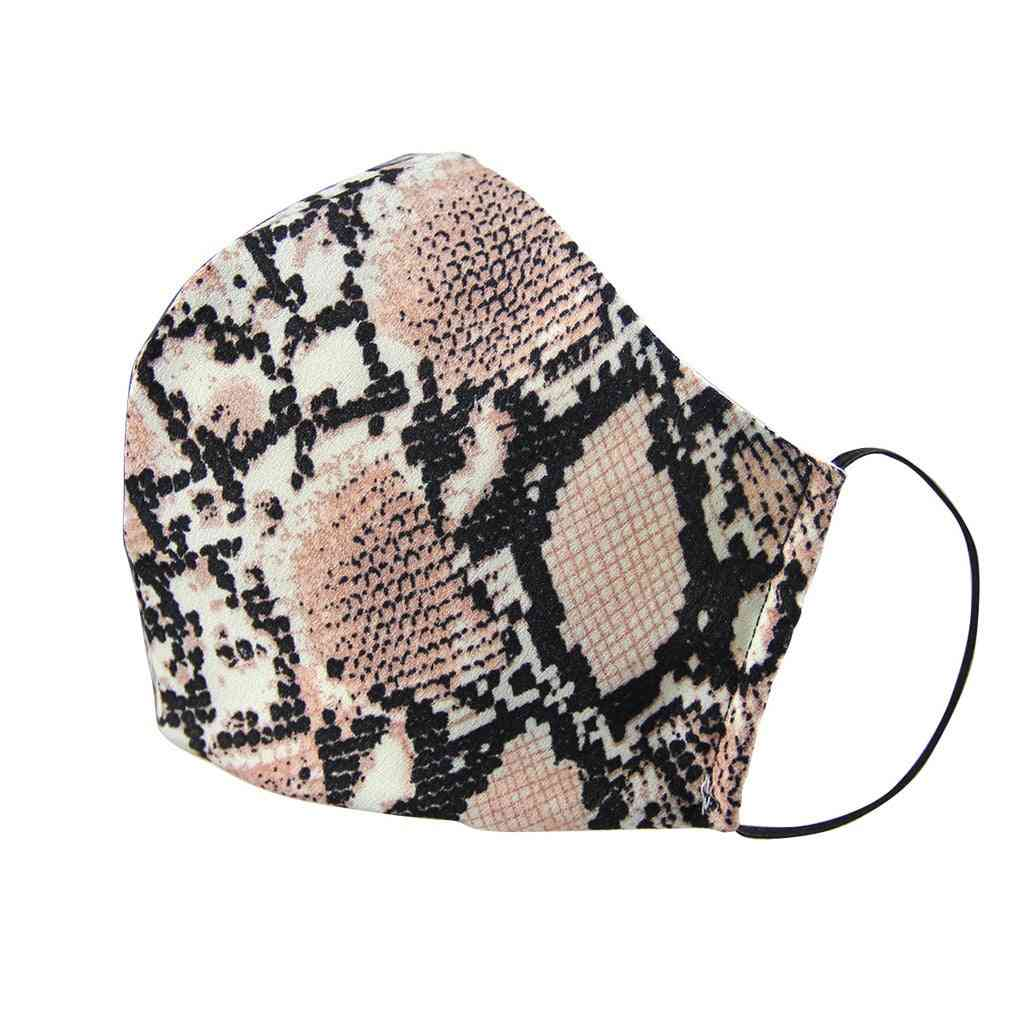 Women/adult Leopard Print Protect Dust Protect-ultraviolet Breathable Disposable Mask
