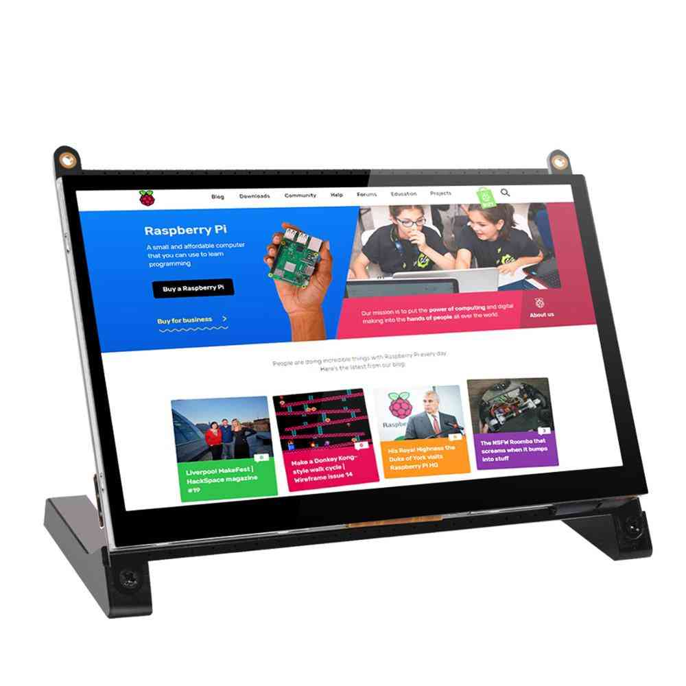 7-inch Touch Screen Ips Monitor With Dual Speakers