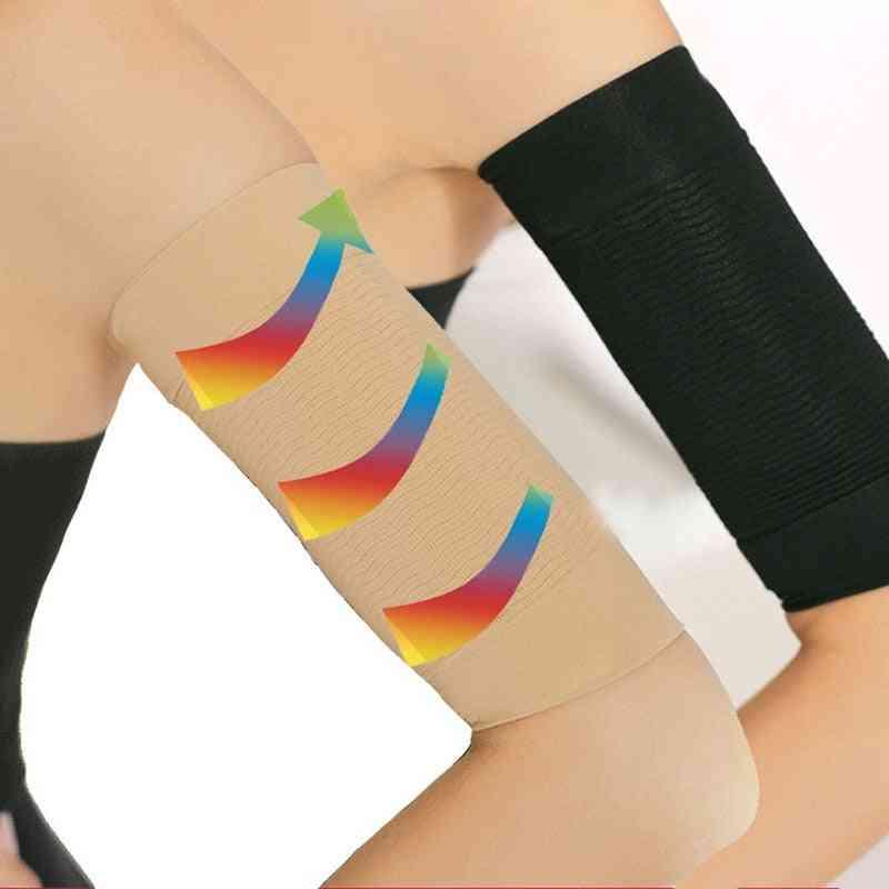 1 Pair Burn Fat Weight Loss Arm Shaper -  Slimming Wrap Belt