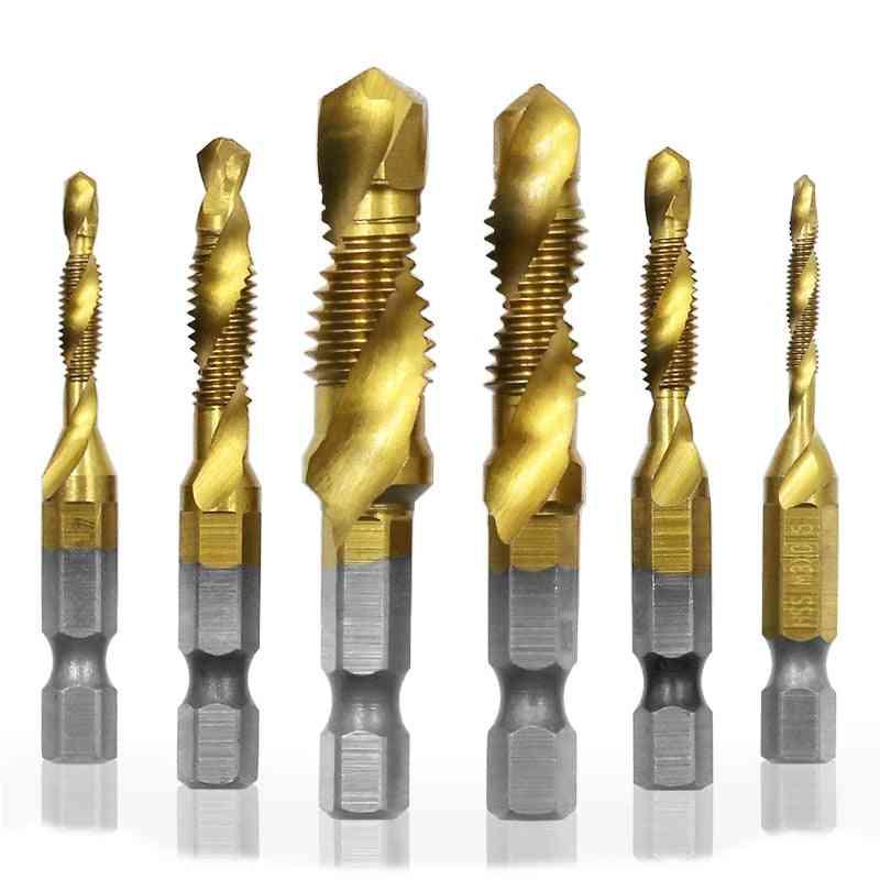 Titanium Plated Hss Screw Thread Metric - Tap Drill Bits