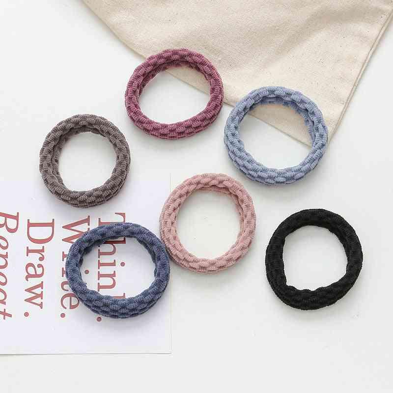 Simple Basic Elastic Hair Bands Ties