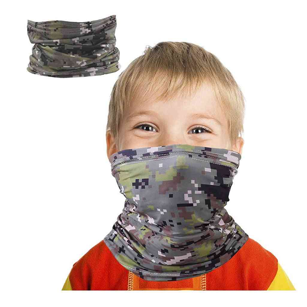 Multi-purpose Safety Dust Face Mask, Headband, Camping Hiking Scarves