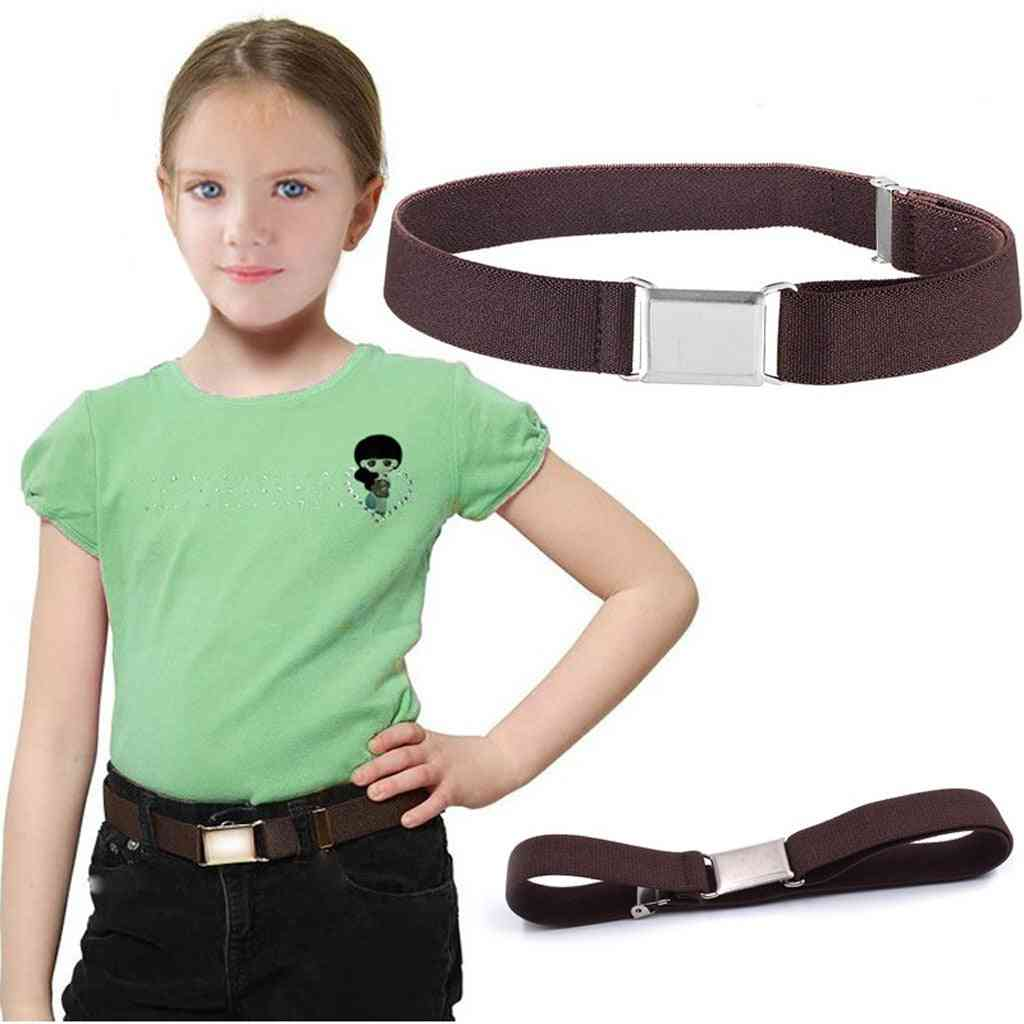 Buckle-free Elastic No Buckle Stretch Belt For Child