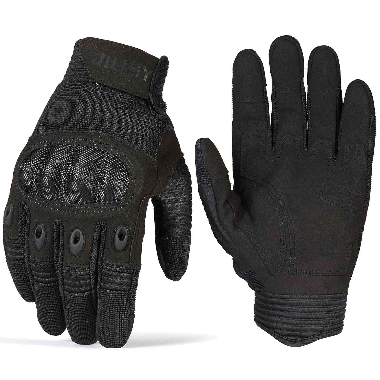 Unisex Anti-skid Full Finger Gloves For Airsoft Shooting, Combat