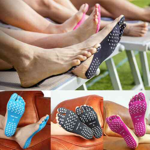 Beach Invisible Anti-skid Insole Outdoor Shoes Stick Sticky Pads